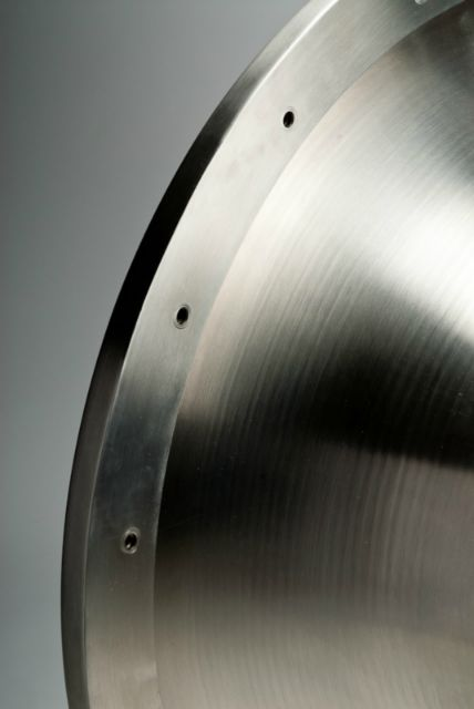 Spinning titanium and super alloys